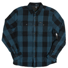 View the Volcom Enders Shirt - Airforce Blue from the Shirts clothing range online today from Boarderline