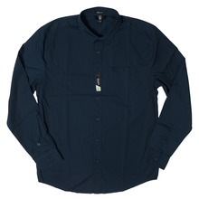 View the Volcom Everett Shirt - Navy from the Shirts clothing range online today from Boarderline