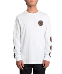 View the VOLCOM FAMILY STONE LONGSLEEVE - WHITE from the T-Shirts clothing range online today from Boarderline