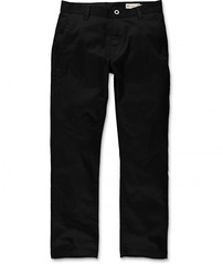 View the VOLCOM FRICKIN MODERN STRETCH CHINO PANT - BLACK from the Jeans & Pants clothing range online today from Boarderline