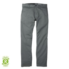View the Volcom Frickin Modern Stretch Chino Pant - Dusty Green from the Jeans & Pants clothing range online today from Boarderline