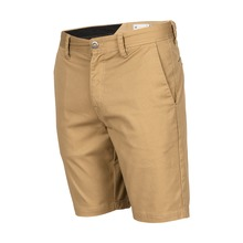 View the Volcom Frickin Modern Stretch Short - Khaki from the Shorts clothing range online today from Boarderline