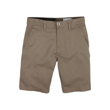 View the Volcom Frickin Modern Stretch Short - Mushroom from the Shorts clothing range online today from Boarderline