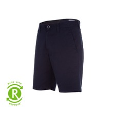 View the Volcom Frickin Modern Stretch Short - Navy from the Shorts clothing range online today from Boarderline