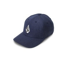 View the Volcom Full Stone Flexfit Cap - Navy from the Snapbacks, 6 Panel Caps clothing range online today from Boarderline