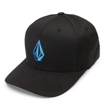 View the Volcom Full Stone XFit Cap - Deep Water from the Snapbacks, 6 Panel Caps clothing range online today from Boarderline