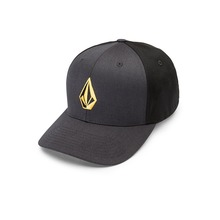 View the Volcom Full Stone XFit Cap - Dirt Gold from the Snapbacks, 6 Panel Caps clothing range online today from Boarderline