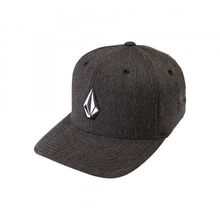 View the Volcom Full Stone XFit Cap - Heather Charcoal from the Snapbacks, 6 Panel Caps clothing range online today from Boarderline