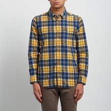 View the Volcom Hayden Shirt - Tangerine from the Shirts clothing range online today from Boarderline