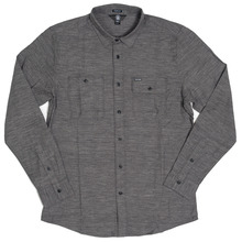 View the Volcom Hickson Shirt - Asphalt from the Shirts clothing range online today from Boarderline