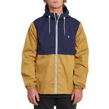 View the Volcom Howard Hooded Jacket - Bronze from the Jackets clothing range online today from Boarderline