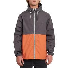 View the Volcom Howard Hooded Jacket - Burnt Orange from the Jackets clothing range online today from Boarderline