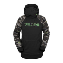 View the Volcom Hydro Hoodie - Army from the Fleece/Layering clothing range online today from Boarderline