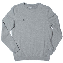 Volcom Icon Crew - Heather Grey