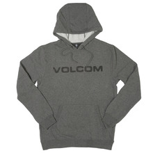 View the Volcom Impact Hooded Sweat - Dark Grey from the Hoods and Crews clothing range online today from Boarderline