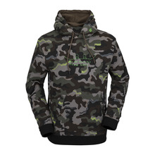 View the Volcom JLA Fleece Hood - Army from the Fleece/Layering clothing range online today from Boarderline