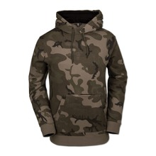 View the Volcom JLA Fleece Hood - GI Camo from the Fleece/Layering clothing range online today from Boarderline
