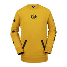 View the Volcom Let It Storm Crew Fleece - Resin Gold from the Fleece/Layering clothing range online today from Boarderline