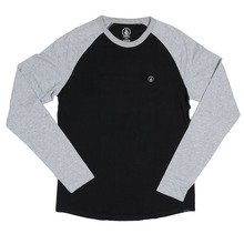View the Volcom Pen Long Sleeve - Black/Grey from the T-Shirts clothing range online today from Boarderline