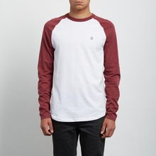 View the Volcom Pen Long Sleeve - Crimson from the T-Shirts clothing range online today from Boarderline