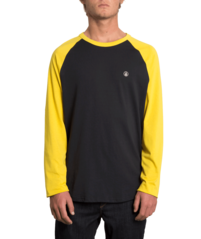 View the VOLCOM PEN LONGSLEEVE - SULPHUR from the T-Shirts clothing range online today from Boarderline