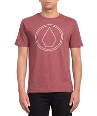 View the VOLCOM PINLINE STONE T-SHIRT - CRIMSON from the T-Shirts clothing range online today from Boarderline