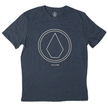 View the Volcom Pinline Stone T-Shirt - Indigo from the T-Shirts clothing range online today from Boarderline