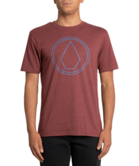 View the VOLCOM PINSTONE T-SHIRT - CRIMSON from the T-Shirts clothing range online today from Boarderline