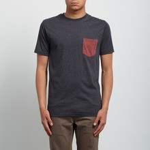 View the Volcom Pocket T-Shirt - Heather Black from the T-Shirts clothing range online today from Boarderline