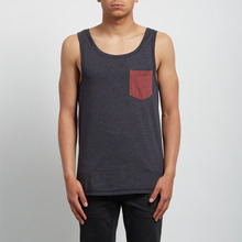 View the Volcom Pocket Vest - Heather Black from the T-Shirts clothing range online today from Boarderline