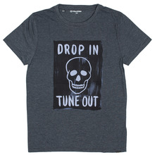 View the Volcom Poisener T-Shirt - Heather Black from the Clothing clothing range online today from Boarderline