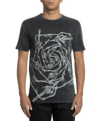 View the VOLCOM SCHOPH T-SHIRT - WASHED BLACK from the T-Shirts clothing range online today from Boarderline
