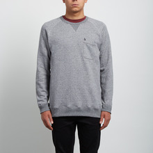 View the Volcom Sheldon Crew - Grey from the Hoods and Crews clothing range online today from Boarderline