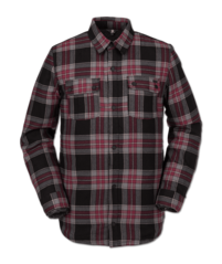 View the Volcom Sherpa Flannel Jacket - Red from the Fleece/Layering clothing range online today from Boarderline