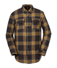 View the VOLCOM SHERPA FLANNEL JACKET - VINTAGE BLACK from the Fleece/Layering clothing range online today from Boarderline