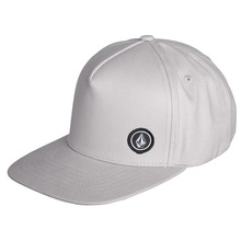View the Volcom Single Stone Cap - Heather Grey from the Snapbacks, 6 Panel Caps clothing range online today from Boarderline