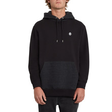View the Volcom Single Stone P/O Hoodie - Black from the Hoods and Crews clothing range online today from Boarderline