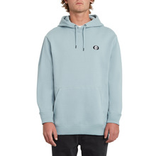 View the Volcom Single Stone P/O Hoodie - Cool Blue from the Hoods and Crews clothing range online today from Boarderline