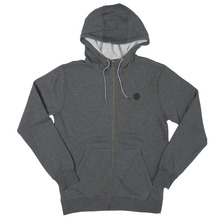 View the Volcom Single Stone Zip Hood - Dark Grey from the Hoods and Crews clothing range online today from Boarderline