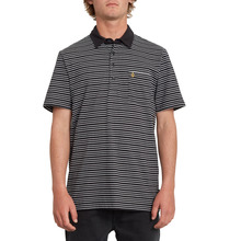 View the Volcom Smithers Polo - Black from the Shirts clothing range online today from Boarderline