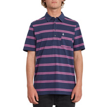 View the Volcom Smithers Polo - Blue Black from the Shirts clothing range online today from Boarderline