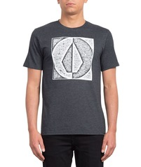 View the VOLCOM STAMP DIVIDE T-SHIRT - HEATHER BLACK from the T-Shirts clothing range online today from Boarderline