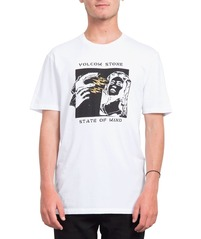 View the VOLCOM STATE OF MIND T-SHIRT - WHITE from the T-Shirts clothing range online today from Boarderline