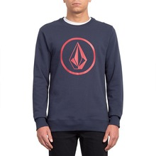 View the VOLCOM STONE CREW SWEATSHIRT - NAVY from the Hoods and Crews clothing range online today from Boarderline