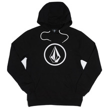 View the Volcom Stone Pull Over Hood - Black from the Hoods and Crews clothing range online today from Boarderline