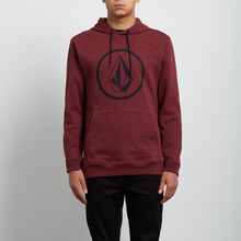 View the Volcom Stone Pull Over Hood - Crimson from the Hoods and Crews clothing range online today from Boarderline