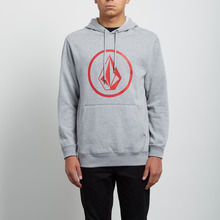 View the Volcom Stone Pull Over Hood - Grey from the Hoods and Crews clothing range online today from Boarderline