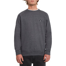 View the Volcom Timesoft Crew - Black from the Hoods and Crews clothing range online today from Boarderline