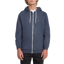 View the Volcom Timesoft Zip Hoodie - Blue Black from the Hoods and Crews clothing range online today from Boarderline