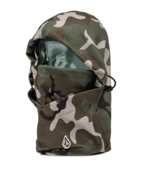 View the VOLCOM TRAVELIN HOOD THINGY - GI CAMO from the Neckwarmers & Face Masks clothing range online today from Boarderline